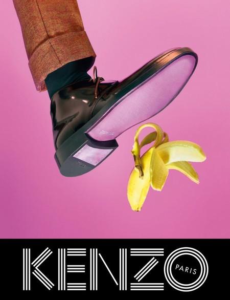 Оригинальные сюрреалистические коллажи в рекламной кампании Kenzo для коллекции осень-зима 2014 — фото 7