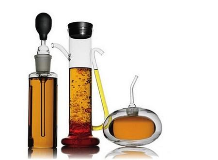 Креатив на кухне: обзор самых необычных емкостей для масла и уксуса — фото 8