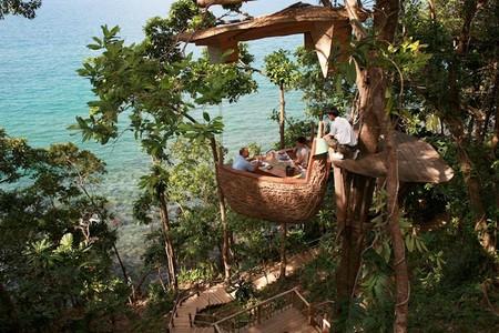 Ресторан-гнездо в Таиланде — фото 6