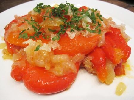 Печеный перец под овощной шубой — фото 1