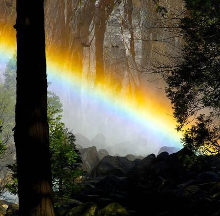 Огненный водопад Horsetail Fall - природное чудо Северной Америки — фото 6