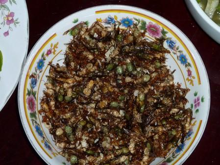 Жареные муравьи — сладкая хрустящая закуска с ореховым привкусом