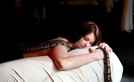 Змеиный массаж - удовольствие не для слабонервных — фото 11