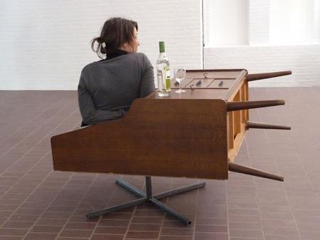 Работы-гибриды из старой мебели