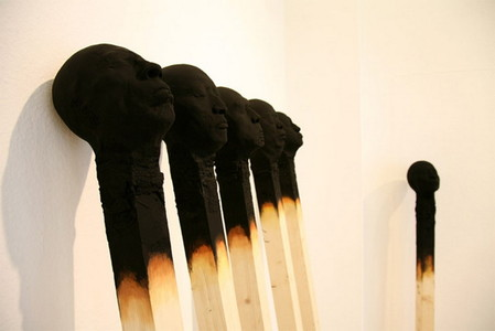 Люди как спички: серия работ Висбадена Вольфганга — фото 9