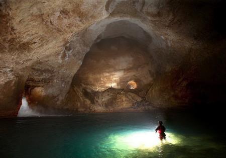Крубера-Воронья  - самая глубокая карстовая пещера в мире — фото 12