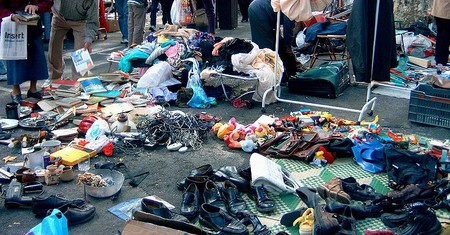 Блошиный рынок Сент-Уан в Париже