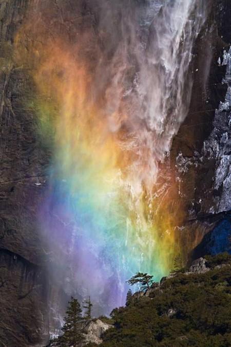 Огненный водопад Horsetail Fall - природное чудо Северной Америки — фото 5