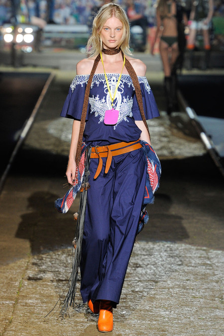 Бахрома - модный тренд сезона весна-лето 2012 — фото 20