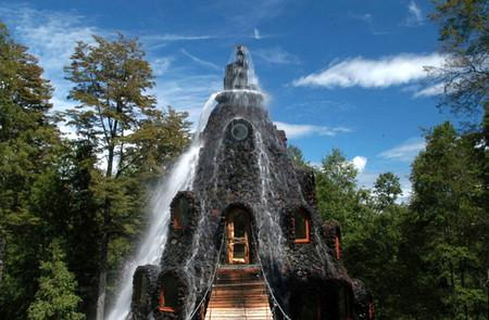 Magic Mountain Lodge - отель-вулкан в девственных лесах Патагонии — фото 6