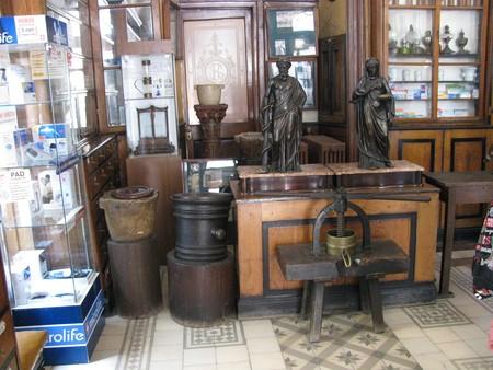 Музей-аптека (1735 год). Действует и в наши дни.