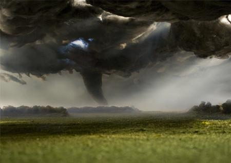 """Для создания """"Торнадо"""" Мэтью использовал мох, петрушку, хлопок и шерсть"""