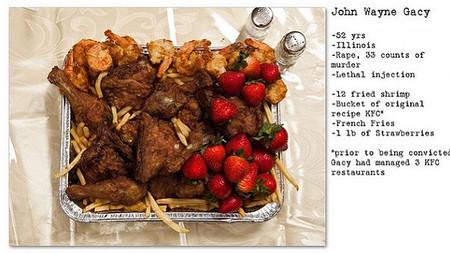 Последние обеды приговоренных к смерти — фото 3