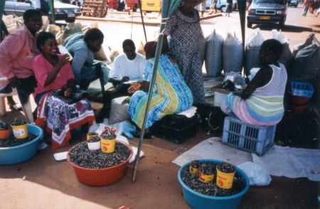 На рынке в Южной Африке