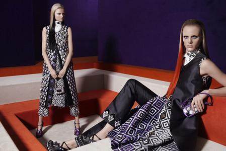 Новые веяния Prada в осеннее-зимней коллекции 2012-2013. Одежда — фото 10