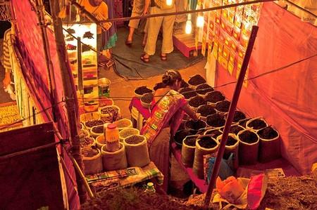 Ночной рынок в Гоа