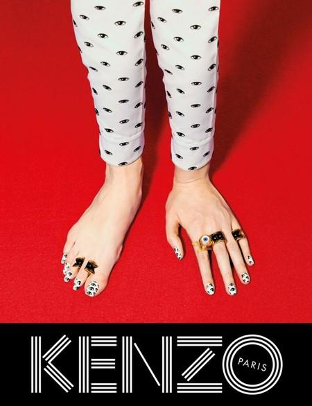 Оригинальные сюрреалистические коллажи в рекламной кампании Kenzo для коллекции осень-зима 2014 — фото 8