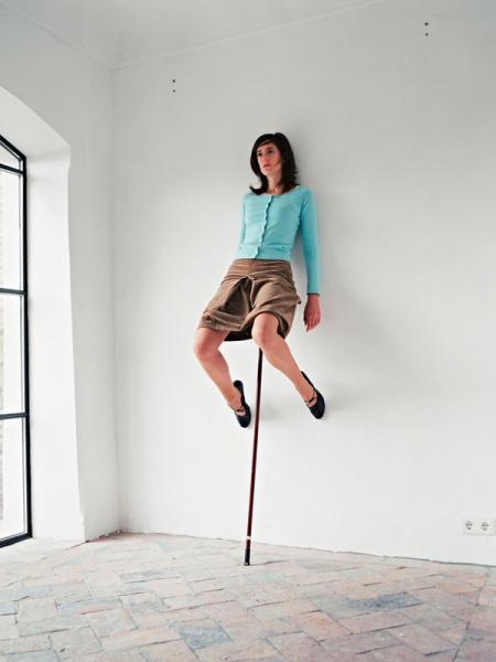 Живые люди в серии «Сиюминутные скульптуры»