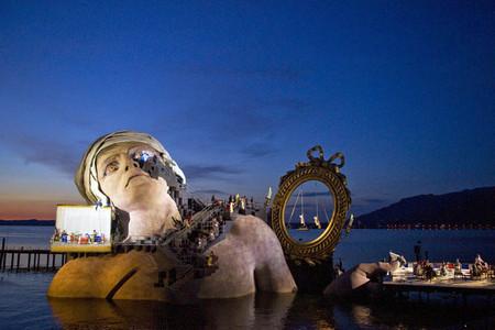 Плавающие сцены на Bregenz Festival в Брегенце — фото 20