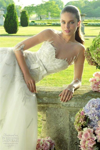 Весенне-летняя коллекция свадебных платьев от Pronovias  2013 — фото 25