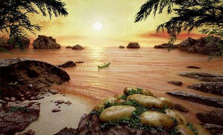 Уникальные пейзажи из еды Карла Уорнера — фото 2