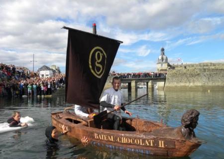 Лодка из шоколада от Джорджа Ларнико — фото 10