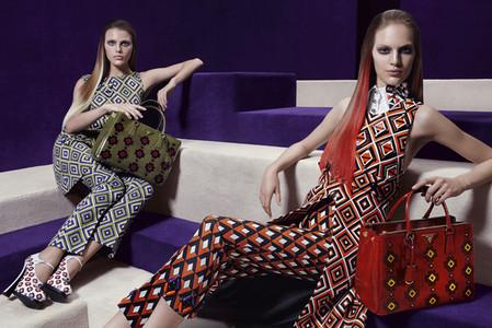 Новые веяния Prada в осеннее-зимней коллекции 2012-2013. Одежда — фото 6