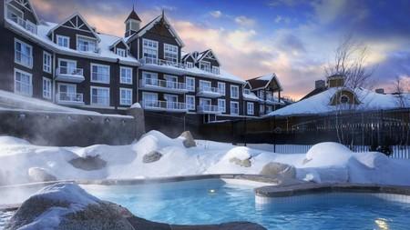 Бассейн в отеле Westin Trillium House (Канада)