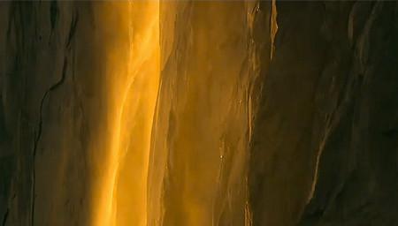 Огненный водопад Horsetail Fall - природное чудо Северной Америки — фото 9