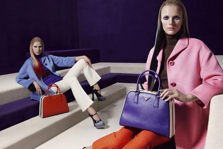Новые веяния Prada в осеннее-зимней коллекции 2012-2013. Одежда — фото 3