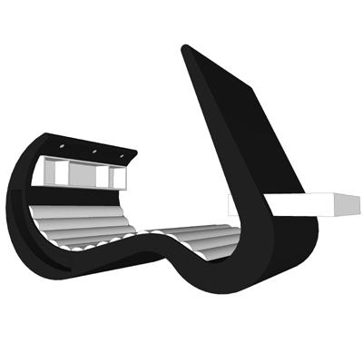 Wave Chaise - универсальный мебельный комплекс для работы и отдыха — фото 4