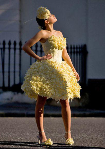 Обзор самых оригинальных идей для свадебного платья — фото 3