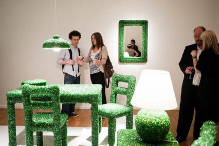 На выставке в Heller Gallery в Нью-Йорке