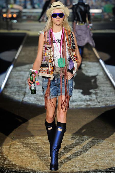 Бахрома - модный тренд сезона весна-лето 2012 — фото 21