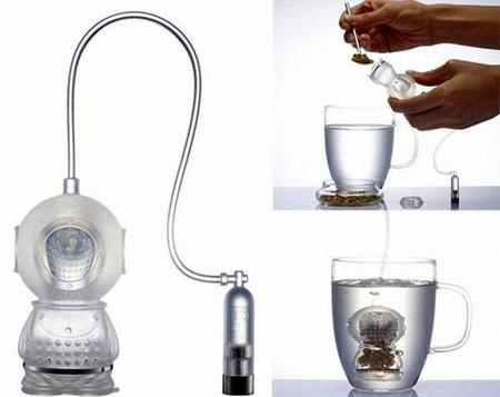 Силиконовый робот-водолаз