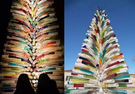 Самые необычные новогодние елки — фото 9