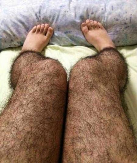 """Чулки а-ля """"волосатые ноги"""" или как защитить себя от маньяка )"""