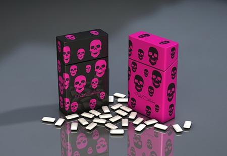 Контейнер с откидной крышкой Skulls