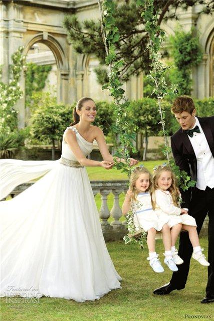 Весенне-летняя коллекция свадебных платьев от Pronovias  2013 — фото 24