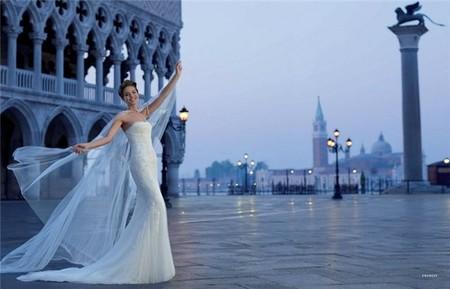 Весенне-летняя коллекция свадебных платьев от Pronovias  2013 — фото 7