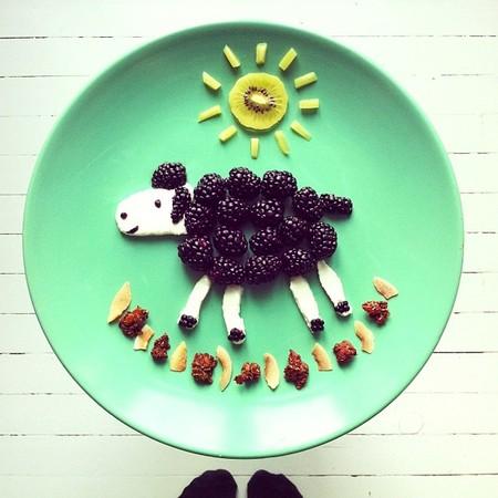 Милая овечка )