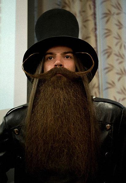 Немец Карл Хилл занял первое место в категории «Борода в имперском стиле»