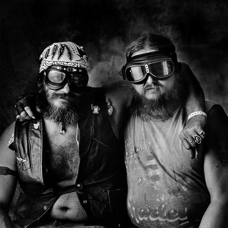 Ал Эймис и Майк Смит. Оклахома. Мотоциклы Harley-Davidson Dyna 8080 и Harley-Davidson Pan Shovelhead