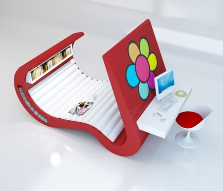 Диван у Wave Chaise покрыт комфортным и мягким материалом