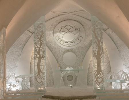 Ледяной отель. Квебек — фото 6