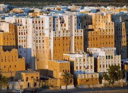 Шибам - город глиняных небоскребов — фото 3