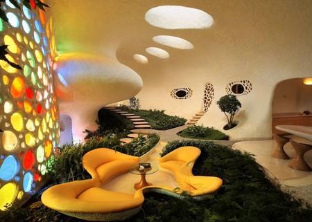 Наутилус - необычный дом-ракушка — фото 8
