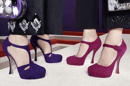 Новые веяния Prada в осеннее-зимней коллекции 2012-2013. Одежда — фото 18
