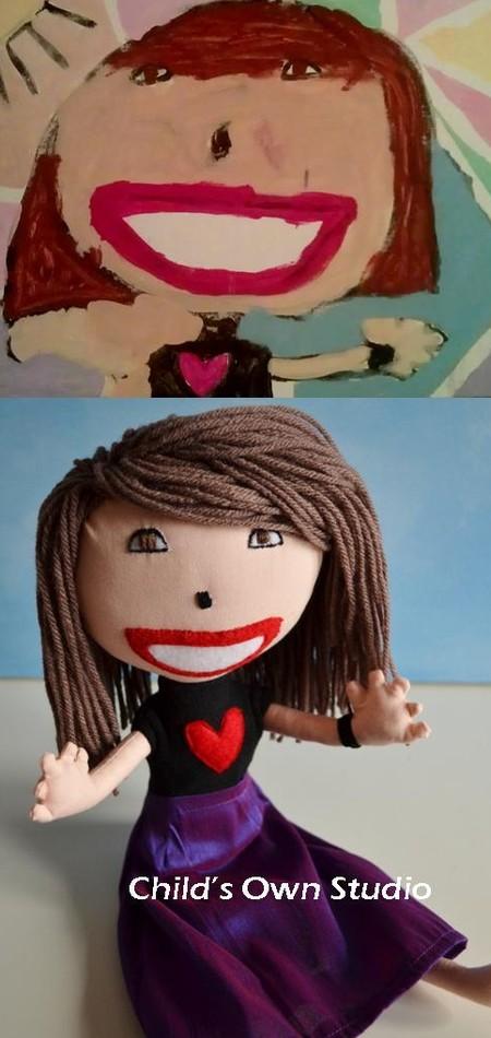 Мягкие игрушки от Венди Цао, сделанные по рисункам детей — фото 37