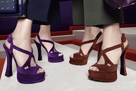 Новые веяния Prada в осеннее-зимней коллекции 2012-2013. Одежда — фото 19